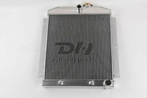 5100 3 Row Aluminum Radiator For 1947 1954 Chevy Truck 3100 3600 3700 3800pickup