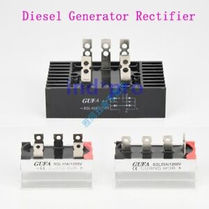 Single three Phase Diesel Generator Rectifier Sql ql 10 100a 1200v 3 120kw New