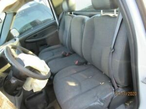 Driver Front Seat Bucket And Bench Cloth Fits 03 07 Sierra 1500 Pickup 2693228