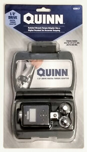 Quinn 1 2 Drive Digital Torque Adapter 29 5 147 6 Ft Lbs
