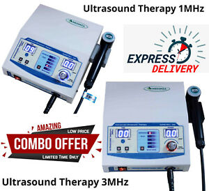 Us Pro Ultrasound Therapy Machine Pain Relief Ultrasonic 1mhz 3mhz Therapy Unit
