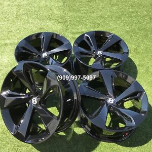 22 Bentley Bentayga Rims Wheels Tires Forged New Set Black Perfect 22 Inch