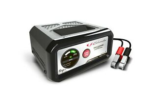 Electric 10 Amp Metal Case Battery Charger Heavy Duty Metal Case