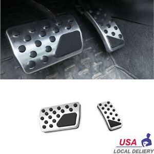 Non slip Automatic Gas Brake Pedals Pad Cover For Jeep Compass Dodge Journey