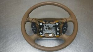 Ford Mustang Leather Wrapped Steering Wheel 94 98 99 04 Camel Leather