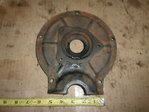 1937 Ford Truck Flathead V8 Engine Front Timing Cover Distributor Mount Plate