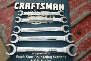 Craftsman Metric Line Wrench Set V Series
