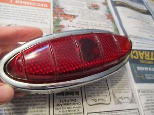 1949 1950 Ford Taillight 8a13448 C1 Glass Lens Frst 48 Stimsonite