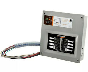 Generac 6852 1 Homelink 30 Amp Upgradeable Manual Transfer Switch