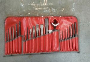 Snap On Chisel And Punch Set 22pc