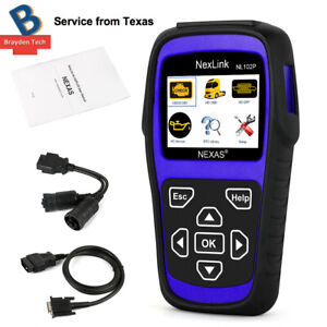 Nexas Nl102p Heavy Duty Hd Truck Diagnostic Scanner Tool Car Code Reader Dpf
