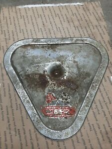 67 68 69 Corvette 427 Tri Power Original Air Cleaner Chrome Lid Barn Find