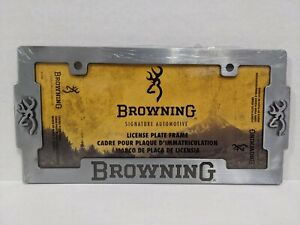 Browning Signature License Plate Frame New In Package