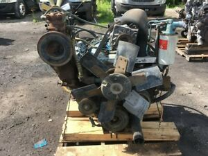 International 9 0l Diesel Engine All Complete Run Tested