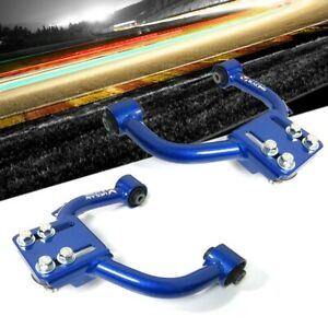 Megan Racing Blue Front Upper Camber Kit Negative Adjust Only For 04 08 Acura Tl