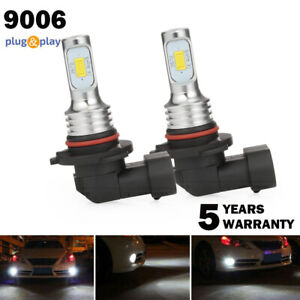 Amazing 9006 Hb4 Led Headlight Bulbs Kits Low Beam Fog Lights Upgrade 80w 6000k