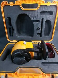 Johnson s Acculine Pro 40 6525 Laser Level With Case Tested Working Case Bracket