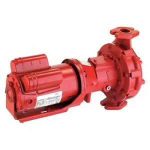 Armstrong Pumps 3 4 Hp Cast Iron In Line Centrifugal Hot Water Circulation Pump