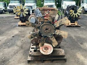 1981 Cummins Pt240 Small Cam Diesel Engine 240hp All Complete Run Tested