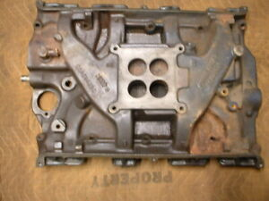 Ford 390 4 Barrel Intake Manifold C5ae 9425 C 4k5 Date Code For 1965