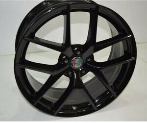Alfa romeo Stelvio 2018 2019 2020 20 Factory Oem Wheel Rim Black