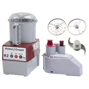 Robot Coupe R2n 1 Speed Cutter Mixer Food Processor W 3 Qt Bowl 120v