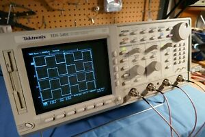 Tektronix Tds540c 4 Channel 500mhz 2gs s Oscilloscope Complete With Probes