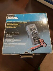 Ideal 33 891 Securitest Cctv And Cable Tester 7 Essential Cctv Tools In 1
