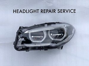 Bmw F10 5 Series Led Adaptive Headlight Repair Service Left Right 2014 2015 2016