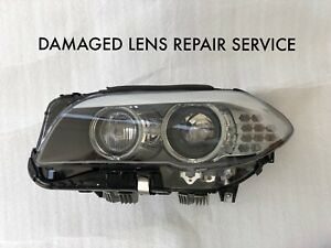 Bmw F10 5 Series Headlight Lens Repair Service Left Or Right 2011 2012 2013
