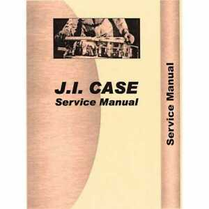 Service Manual 930ck Compatible With Case 930ck 930ck