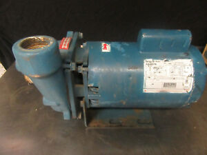 M16 Electric Water Pump Jet Pump 115 230 V 1 5 Hp A o Smith Motor B737