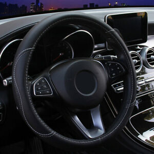 15 Carbon Fiber Non Slip Steering Wheel Cover For Honda Civic Accord Cr V Pilot