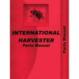Parts Manual 330 Compatible With International 330 330