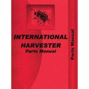 Parts Manual 284 Compatible With International 284 284