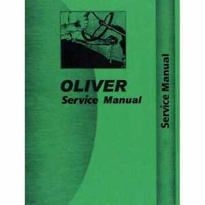 Service Manual 1250a 1255 1265 Compatible With Oliver 1255 1255 1265 1265