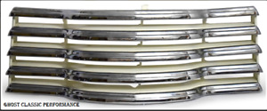 1947 1953 Chevrolet Truck Grill Grille Chrome Ivory Bar Brand New Reproduction