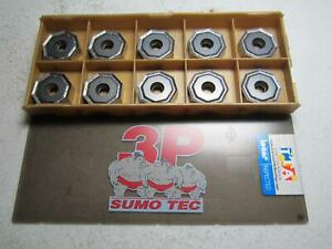 Iscar 05606599 Onmu 080608 tn mm 135 Carbide Milling Inserts Pack Of 10