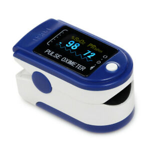 Color Led Fingertip Pulse Oximeter With Software 24h Recording