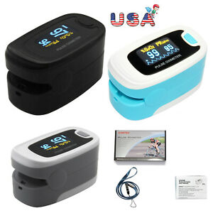 Fingertip Pulse Oximeter Blood Oxygen Saturation Monitor Spo2 Pr Heart Rate Fda