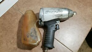 Snap On Im6500 Hp 1 2 Drive Air Pneumatic Impact Wrench With Boot Cover