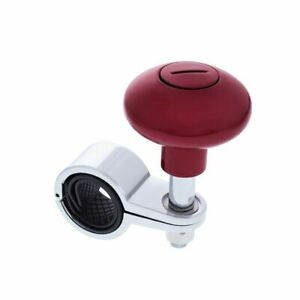 Candy Red Steering Wheel Spinner Heavy Duty Car Truck Handle Suicide Knob