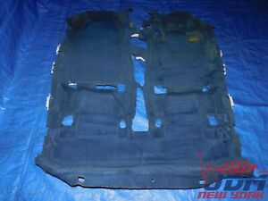 02 06 Jdm Honda Acura Integra Rsx Dc5 Type r Oem Rhd Blue Floor Carpet 3