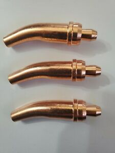 3 original Victor G Series Cutting gouging Torch Tip For Acetylene 4 1 118