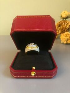 Impressed Octagonal Engagement ring Box Jewelry Gift Case Burgundy Color