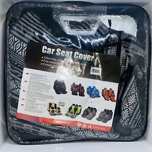 Universal Baja Inca Saddle Mexican Blanket Full Size Bench Truck Car Seat Cover