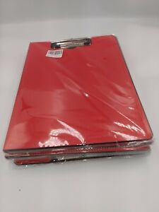 Foldable Clipboard Red Upper New Eceiro Lot Of 4 Four