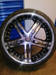 22 Inch Merceli Rims And Tires 245 30 Zr22 95 W Extra Load