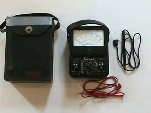 Circa 1950 Simpson 260 series 2 Volt multi meter Vg Condition