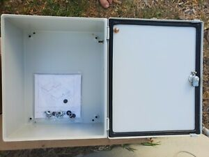 New Hoffman Lhc302515 Infp Box Enclosure W Hinged Cover Hoffman Lp3025 Panel